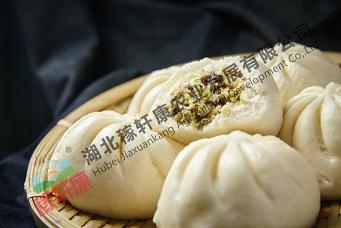 峨眉山香菇素菜包